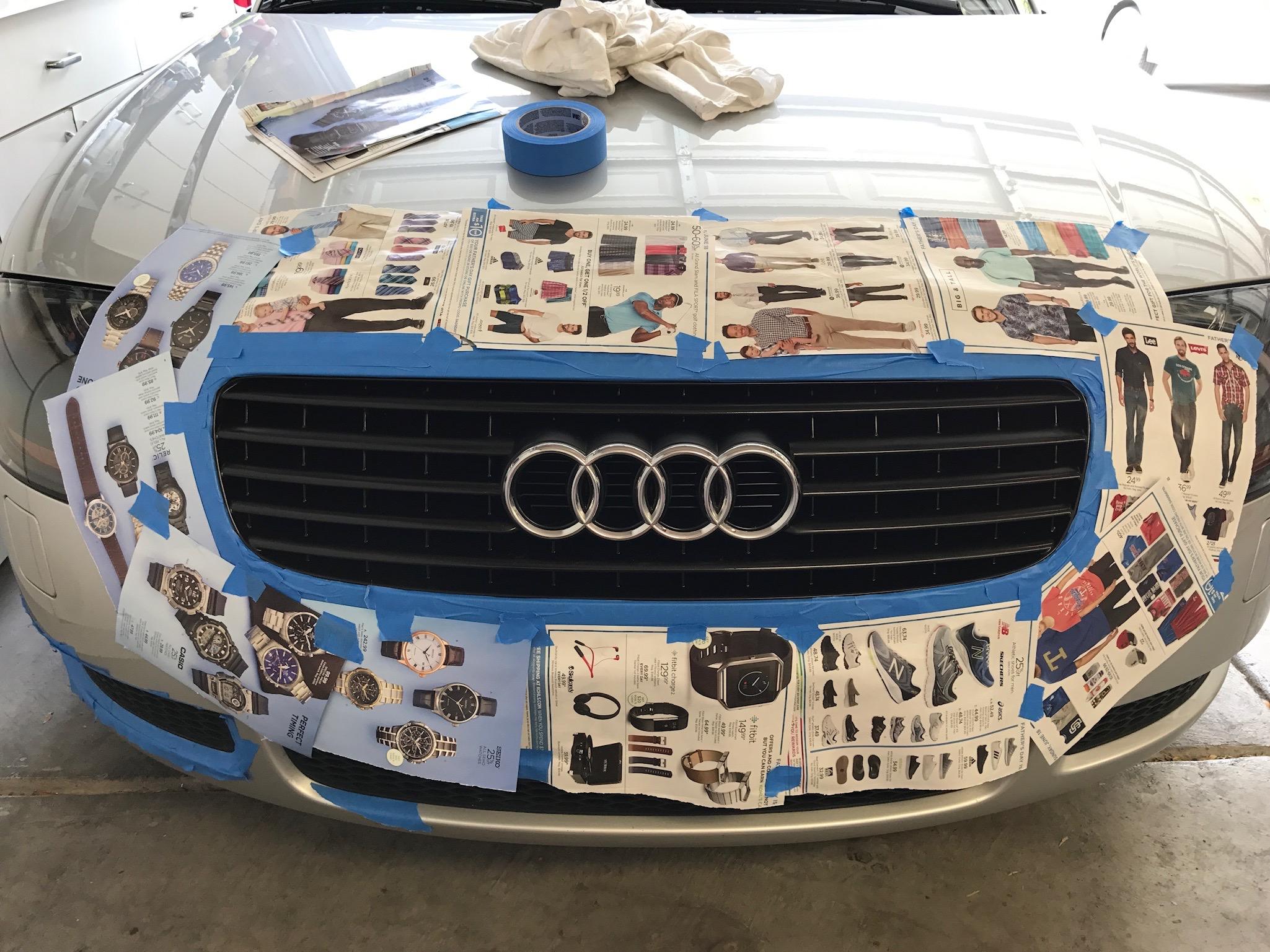 Audi Tt Grill Restore Las Vegas Tt Club
